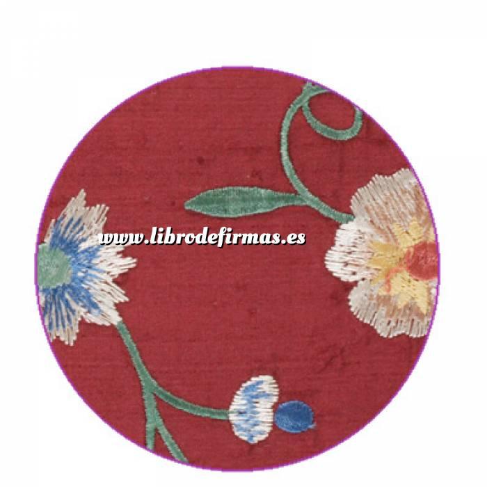 Imagen Floral Libro de firmas floral BURDEOS (Últimas Unidades)
