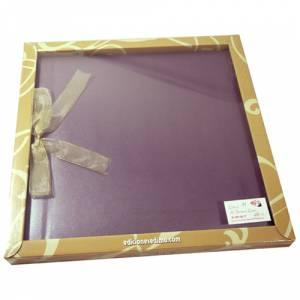 Álbumes - Libro de Firmas LAZO 11 Lila Clásico