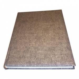 Textura - Libro de Firmas CAÑAMO negro (Últimas Unidades)