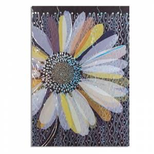 Turnowsky - Cuadernillo Notebook Turnowsky - Flor morada y azul Ref. 38656